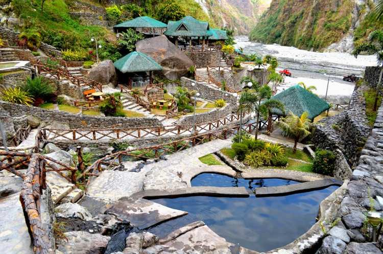 Puning Hot Spring t is one of the tourist spots in Pampanga