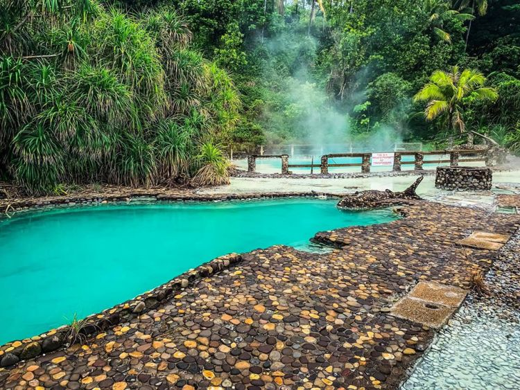 Sabang Hot Spring is one of the acclaimed Davao Occidental tourist spots