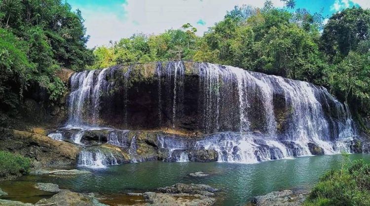 Malagandis Falls is one of Zamboanga Sibugay tourist spots