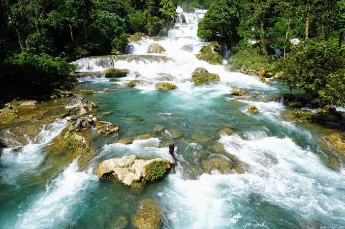 Aliwagwag Falls is one of Davao Oriental tourist spots