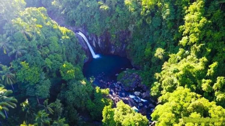 Tinago Falls is one of Biliran tourist spots