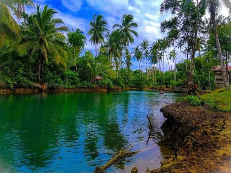 Lake Carolina is one of Davao Oriental tourist spots