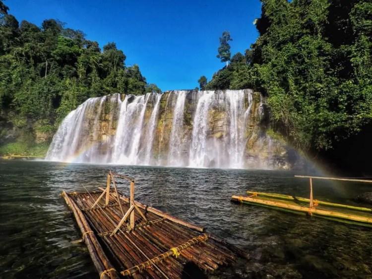 Tinu-an Falls is one Surigao Del Sur tourist spots.