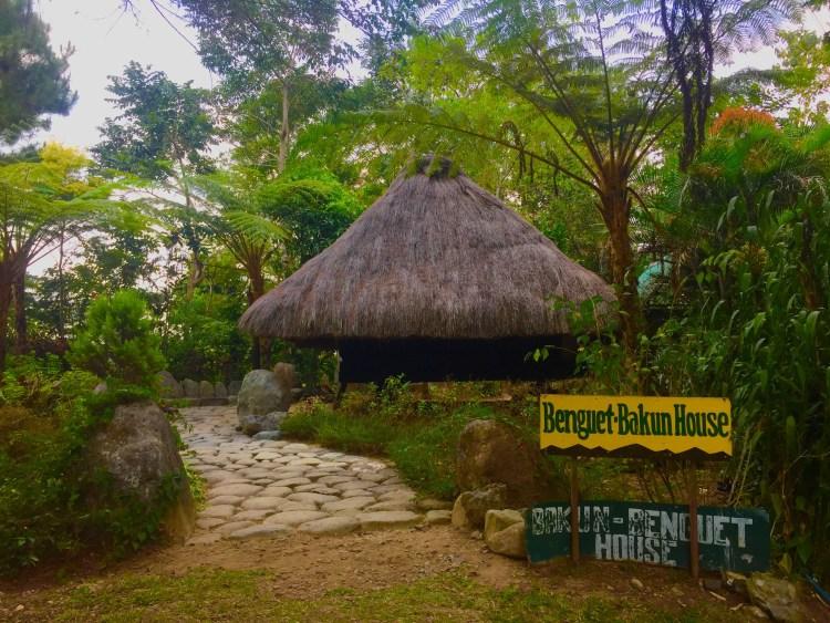 Benguet house at Winaca Eco Cultural Village