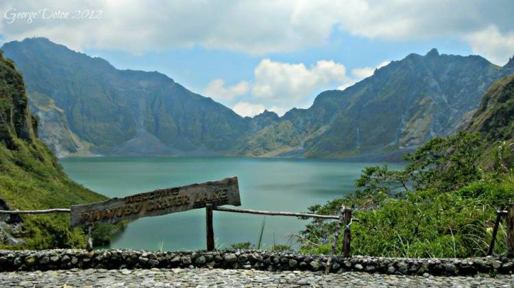 Mt Pinatubo is one of the tourist spots in Pampanga