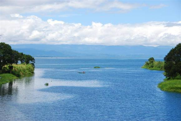 Lake Lanao is one of the largest lakes in the Philippines