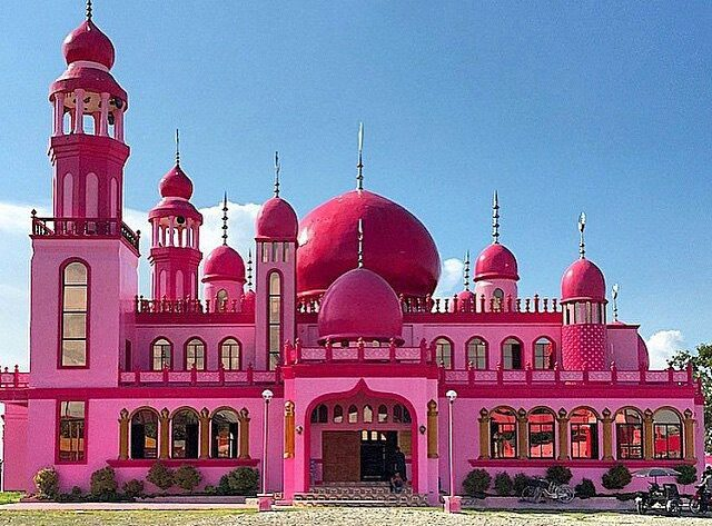 The Pink Mosque is one of the best Maguindanao tourist spots.