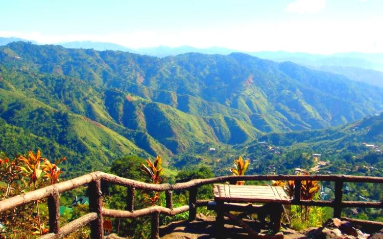 Mountain scenes from Mines View Park Baguio City