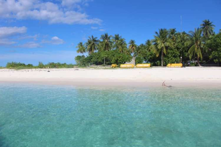 Tinuse Beach is one of the best Basilan tourist spots
