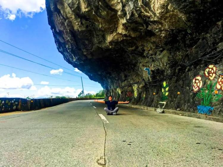 Natumpukan Half Tunnel is one of the best tourist spots in Atok, Benguet