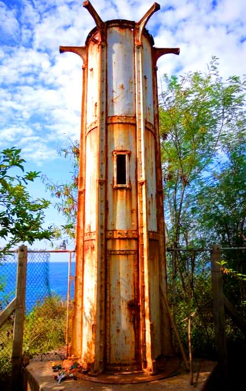 The old Poro Point Lighthouse, one of the best tourist spot in La Union.