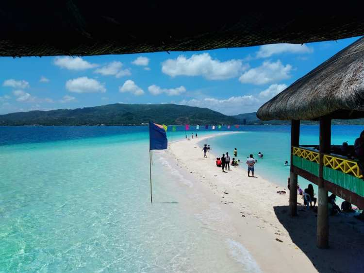 Butod Sandbar and Marine Sacntuary is one of the best tourist spots/attractions in Masbate province