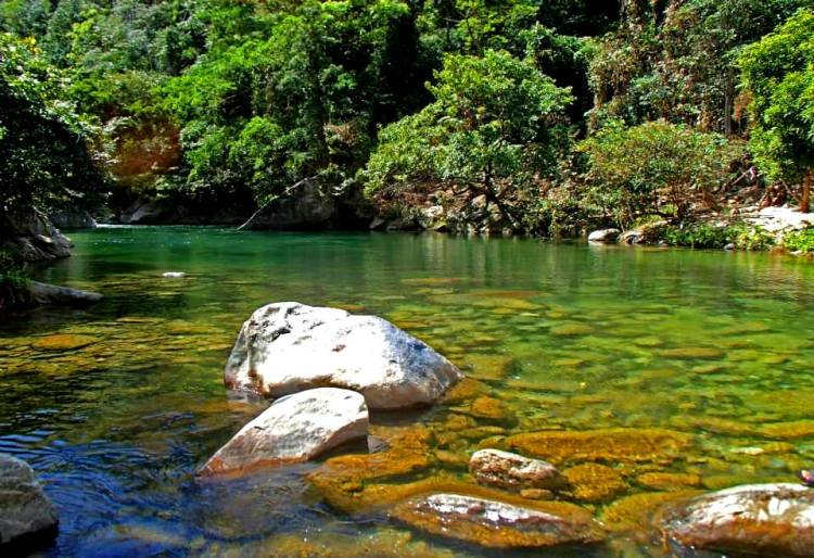 Kalong River is one of the tourist spots/destinations in Occidental Mindoro