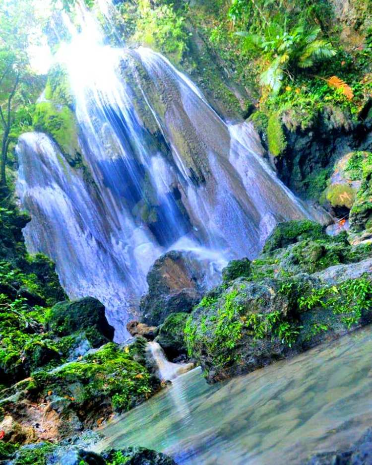 Nalalata Falls is one of the tourist spots/destination in Camarines Sur