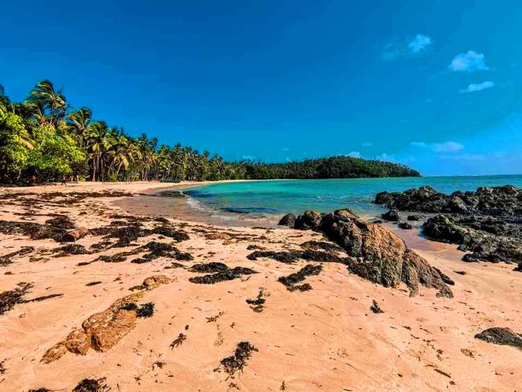Caloco Beach is one of the tourist spots/destination in Camarines Sur