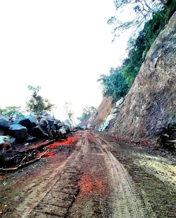 Barlig road project
