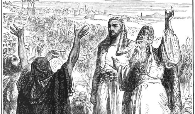 Spirit upon Saul