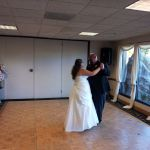 Travis and Trisha's Wedding Ceremony at Antelope Valley Country Club