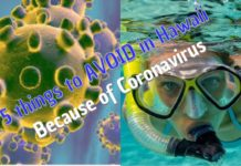 Things to AVOID in Hawaii because of Coronavirus