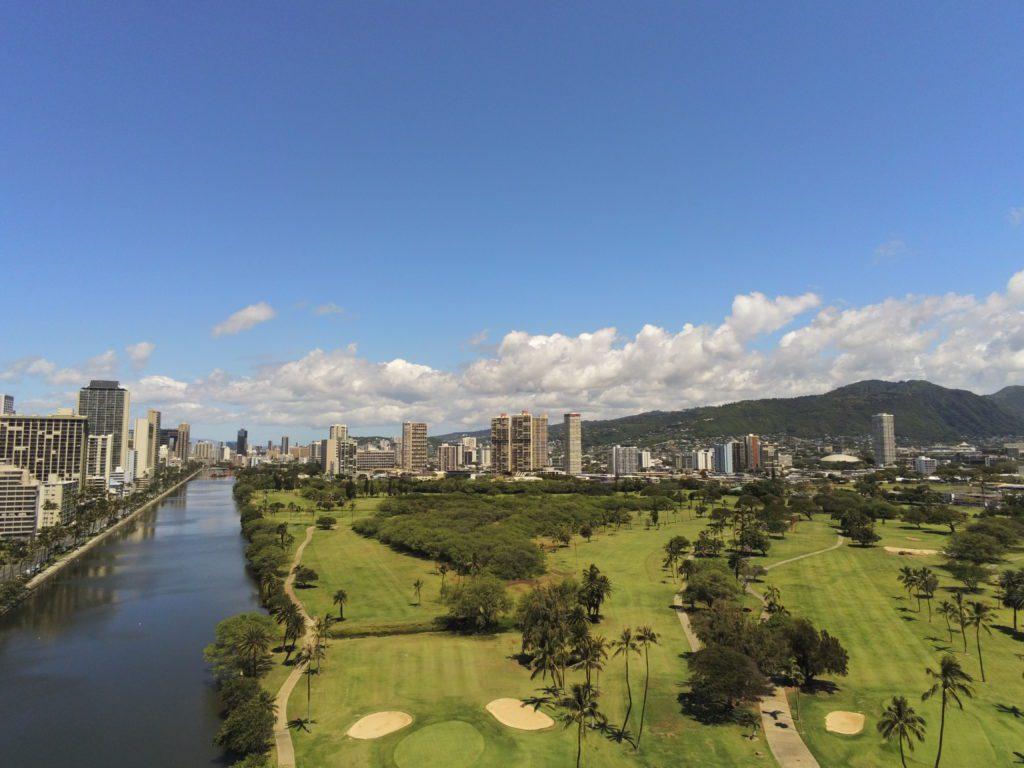 Ala Wai Golf Course, Waikiki, Oahu