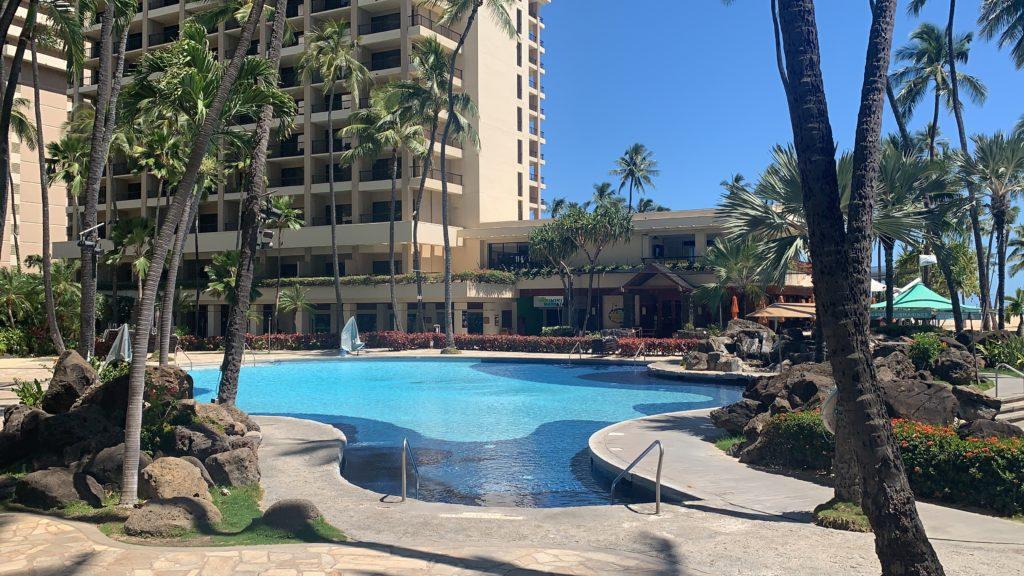 Hilton Hawaiian Village Hotel Pool