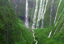 Waialeale Waterfalls Kauai