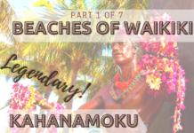 Kahanamoku Beach in Waikiki
