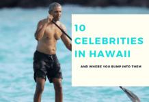 10 Celebrities in Hawaii