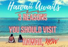 Visit Hawaii in August