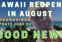 Hawaii Reopening in August