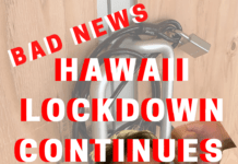Hawaii not reopening in August