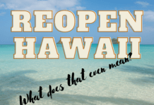 Reopen Hawaii - What does it mean?