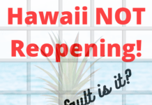 Hawaii NOT Reopening - Who's FAULT is it?