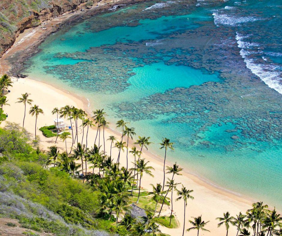 Hanauma Bay on Oahu for Best Snorkeling in Hawaii