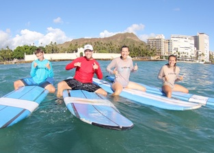 Private Surf Lessons - Safe Activities in Hawaii