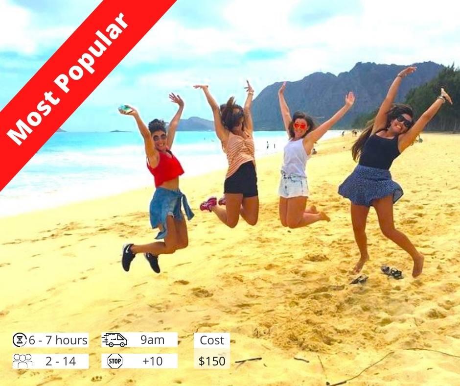 Oahu Circle Island Tour Popular