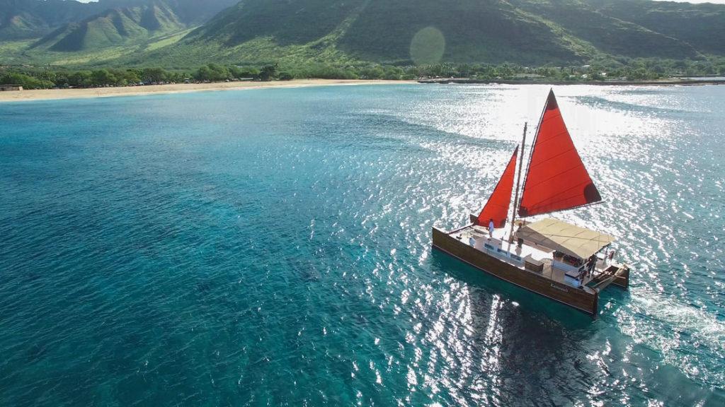 Hawaiian Sailing Canoe