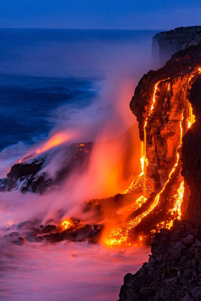 Lava flow from Kilauea continues to grow The Big Island