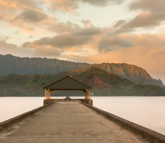 Hanalei Bay Beach is one destination when you plan a Kauai vacation