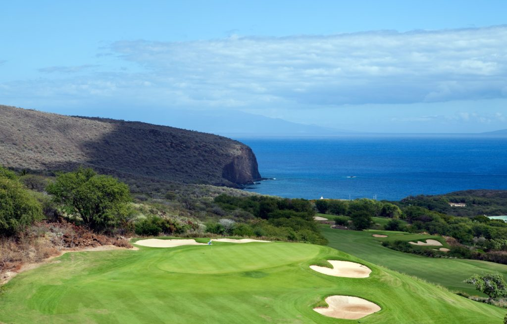 Plan a Lanai vacation and visit Manele Golf Course