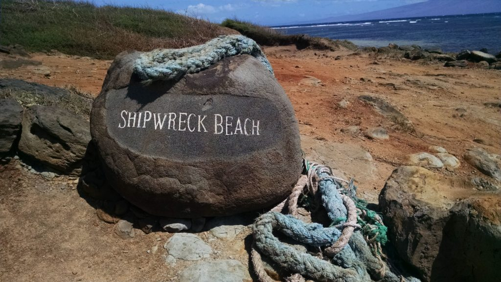 Plan a Lanai vacation and visit Shipwreck Beach