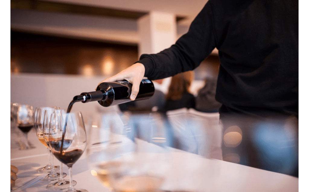 Winery tasting