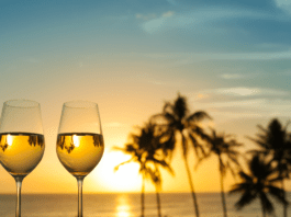 Hawaiian winery setting