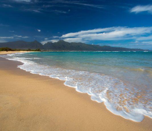 Camping in Hawaii is available at Kanaha Beach Park