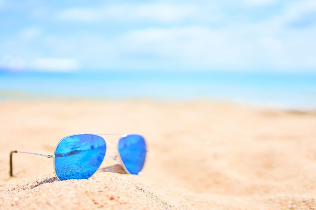 What to pack for a beach day in Hawaii? Sunglasses.