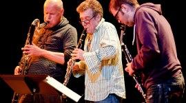 Gebhard Ullman | Clarinet Trio Jazz Photography