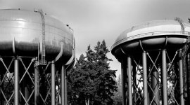 Twin Water Towers