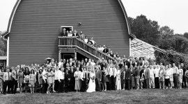 Red Barn Studios Wedding Panorama