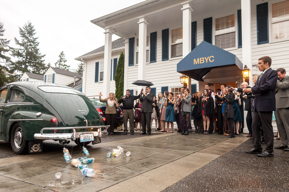 Wedding reception at the Bellevue Yacht Club