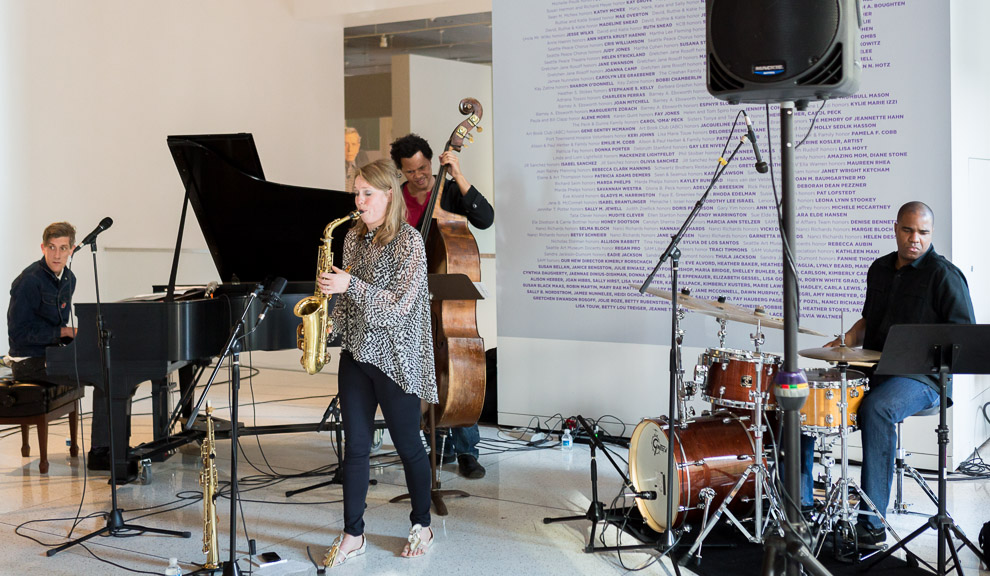 Tininke Postma Quartet in Seattle Art Museum